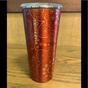 Starbucks Steel Mercury Succulent Eyelets 16oz